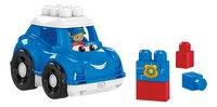 Mega Bloks First Builders Lil' Vehicles Peter La voiture de police-Détail de l'article