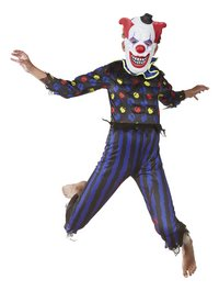 Verkleedpak duivelse clown maat 164-Afbeelding 4