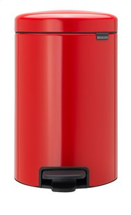 Brabantia Pedaalemmer NewIcon passion red 12 l