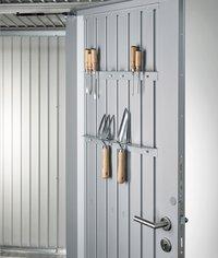 Biohort Tuinhuis met dubbele deur AvantGarde donkergrijs-Artikeldetail
