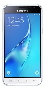 Samsung smartphone Galaxy J3 2016 blanc-Avant