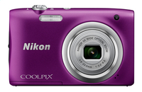 Nikon Digitaal fototoestel Coolpix A100 paars-Vooraanzicht