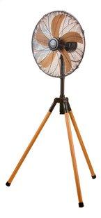 Domo Ventilator op voet Wood style DO8146 zwart metaal/houtlook-Artikeldetail