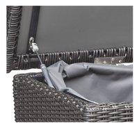 Coffre de rangement Beira gris foncé-Détail de l'article