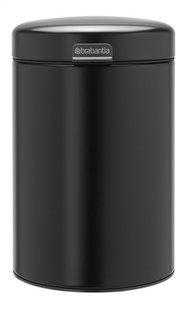 Brabantia Wandafvalemmer newIcon matt black 3 l