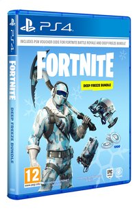PS4 Fortnite Code Deep Freeze Bundle FR/NL-Côté gauche