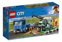 LEGO City 60223 Maaidorser transport-Linkerzijde