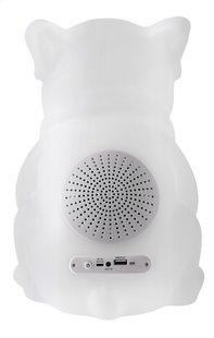 bigben bluetooth speaker hond met lichten wit-Achteraanzicht
