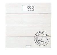 Soehnle Pèse-personne Bamboo white PWD 63845 blanc