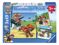Ravensburger Puzzel 3-in-1 PAW Patrol Team op 4 poten