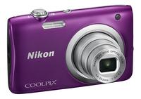 Nikon appareil photo numérique Coolpix A100 mauve-Côté gauche