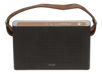 Denver haut-parleur Bluetooth BTS-200 noir/brun-Avant