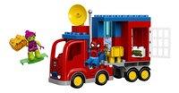 LEGO DUPLO 10608 Spider-Man Spider Truck avontuur-Vooraanzicht