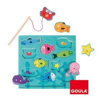 Goula magnetische puzzel Vissen-Artikeldetail