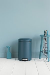 Brabantia Pedaalemmer newIcon mineral reflective blue 12 l-Afbeelding 1