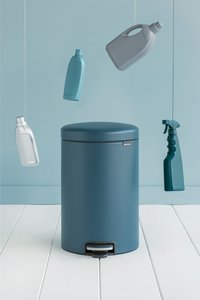 Brabantia Pedaalemmer newIcon mineral reflective blue 20 l-Afbeelding 1