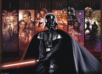 Ravensburger puzzel Disney Star Wars Saga-Vooraanzicht