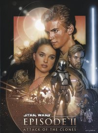Ravensburger puzzle Disney Star Wars L'attaque des clones-Avant
