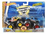 Hot Wheels Monster Truck Demolition DoublesTeam Hot Wheels vs Hot Wheels
