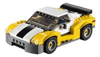LEGO Creator 31046 Snelle gele wagen-Vooraanzicht