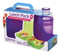 3c06dcdca1e Sistema brooddoos en drinkfles 480 ml Lunch Pack paars