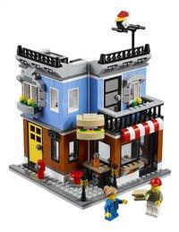 LEGO Creator 31050 Hoekrestaurant-Vooraanzicht