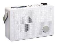 Lenco radio PDR-030 DAB blanc