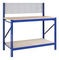 Avasco Werkbank Work blauw B 150 cm-Vooraanzicht