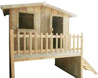 Dutchwood maisonnette en bois-Côté gauche