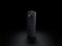 Ricoh appareil photo numérique Theta S 360° zwart-Image 1