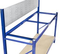Avasco Établi Work bleu Lg 150 cm-Vue du haut