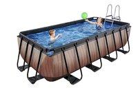 EXIT piscine Wood avec filtre à sable 4 x 2 m-Image 2