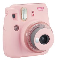 Fujifilm appareil photo instax mini 9 Clear Pink-Côté gauche