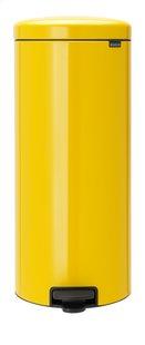 Brabantia Poubelle à pédale NewIcon daisy yellow 30 l-Avant