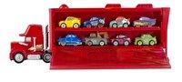Mini Racers speelset Disney Cars Mack Transporter-Vooraanzicht