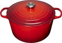 Le Creuset cocotte haute Tradition rouge cerise 28 cm - 8 l
