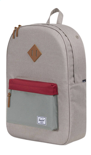Herschel sac à dos Heritage Light Khaki cross/Shadow/Brick Red-Côté droit