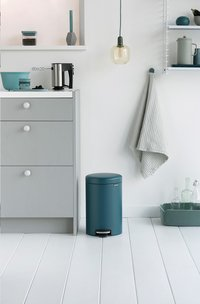 Brabantia Pedaalemmer newIcon mineral reflective blue 12 l-Afbeelding 2