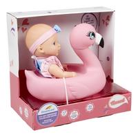DreamLand pop met zwemband flamingo-Linkerzijde