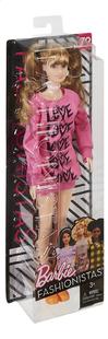 Barbie poupée mannequin  Fashionistas Tall 80 - Wear Your Heart-Côté gauche