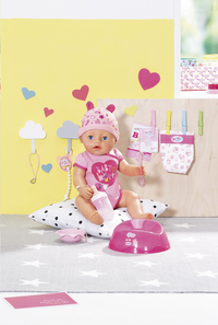 BABY born poupée interactive Soft touch Fille rose 43 cm-Détail de l'article