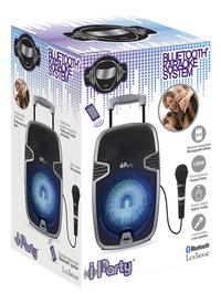 Lexibook enceinte trolley Bluetooth iParty Karaoké K8250-Côté gauche