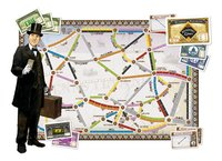 Ticket To Ride uitbreiding: United Kingdom en Pennsylvania-Vooraanzicht