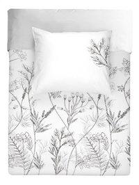 Walra Housse de couette Flower fields wit coton 140 x 220 cm-Avant