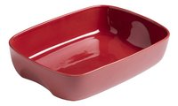 Pyrex Ovenschaal Curves red brick-Linkerzijde