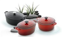 Le Creuset ronde stoofpan Tradition lapis-Afbeelding 2