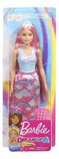 Barbie mannequinpop Dreamtopia Prinses met lang roze haar-Vooraanzicht