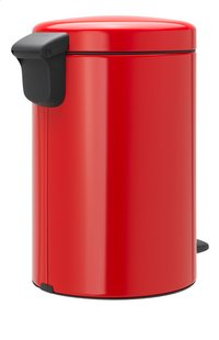 Brabantia Pedaalemmer newIcon passion red 12 l-Linkerzijde