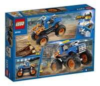 LEGO City 60180 Monstertruck-Achteraanzicht