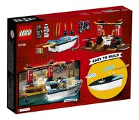 LEGO Juniors 10755 Zane's ninjabootachtervolging-Achteraanzicht